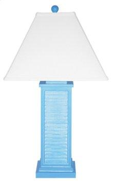 PR151-BL Shutter Table Lamp
