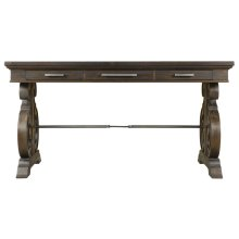 Add elegant industrial style to any room's décor with this handsome d...