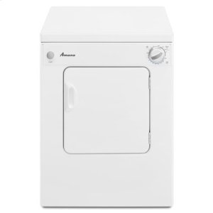 AMANA3.4 Cu. Ft. Compact Dryer with Automatic Dryness Control - white