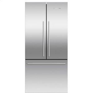 Fisher & PaykelFreestanding French Door Refrigerator Freezer, 16.9 cu ft, Ice only