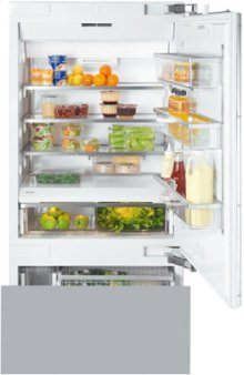 "36"" KF 1903 Vi Built-In Bottom-Mount Fridge/Freezer - 36"" Refrigerator-Freezer"