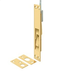 """12"""", 18"""", 24"""" and 39"""" Extension Flush Bolt, Solid Brass - PVD Polished Brass"""