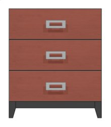"28"" 3-Drawer Bedside Chest"