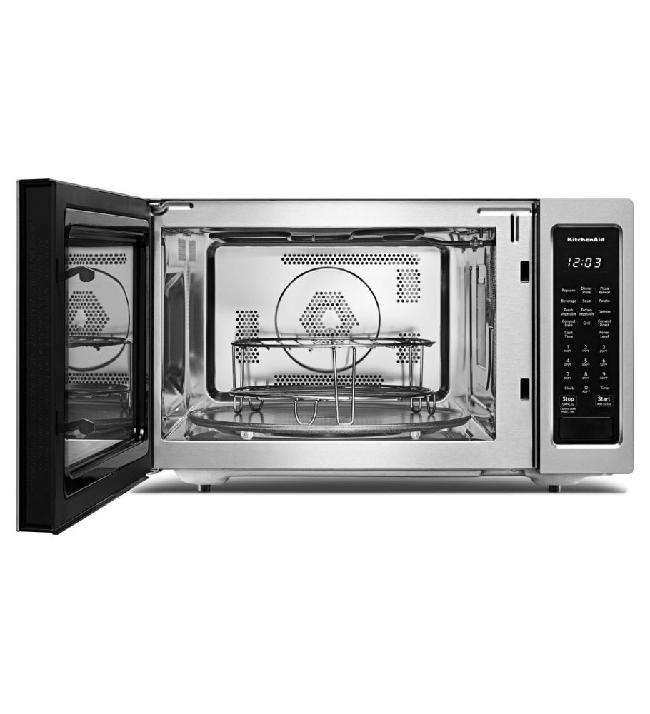 Kitchenaid 21 3 4 Countertop Convection Microwave Oven 1000 Watt Stainless Steel