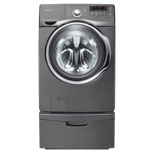 4.0 cu. ft. VRT , Steam and PowerFoam Front Load Washer (Stainless Platinum)