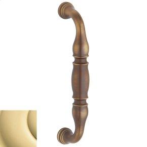 Non-Lacquered Brass Hamilton Pull