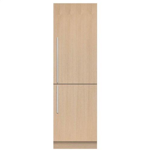 "Integrated Refrigerator Freezer, 24"", 8 cu ft, Panel Ready"