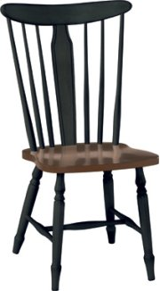 Bridgeport Chair Aged Ebony & Espresso Product Image