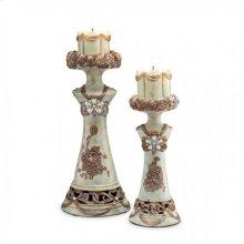 Rosella Candle Holder Set (4/box)