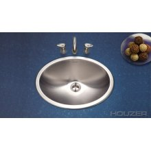 Topmount Lavatory Oval Sink cht-1800