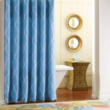 Calypso Shower Curtain, CAPRIBLUE, ONE