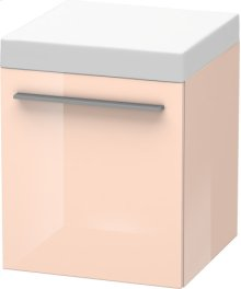 Mobile Storage Unit, Apricot Pearl High Gloss Lacquer
