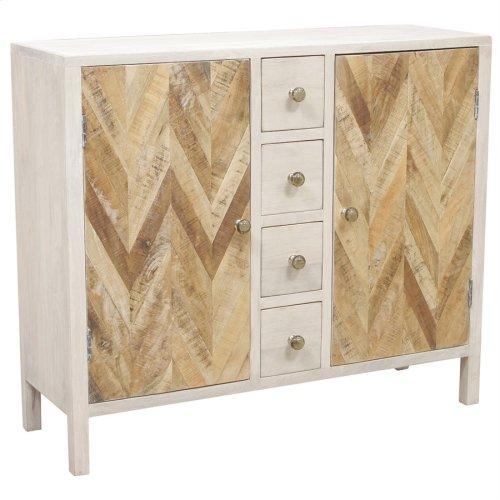 Derron 2-door 4-drawer Cabinet