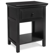 NSCE Cottage Style Nightstand in Ebony Finish Product Image