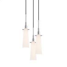 Candela Tapered 3-Light Pendant
