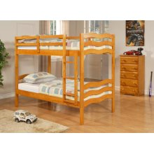 Twin/Twin Wave Bunkbed