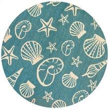 Cardita Shells - Turquoise-Ivory 7334/0220