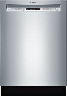 """24"""" Recessed Handle Dishwasher 300 Series- Stainless steel SHE53T55UC"""
