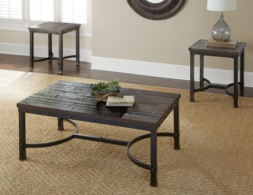 """Ambrose Cocktail Table 48"""" x 28"""" x 18""""H"""