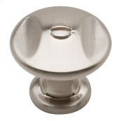 Ergo Knob 1 3/8 Inch - Brushed Nickel