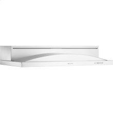"36"" Under Cabinet Hood, Floating Glass White"