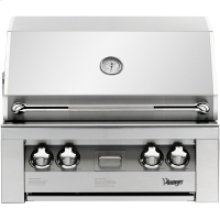30-In. Built-In Natural Gas Grill in Stainless