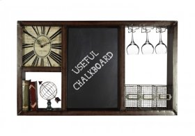 Clock and Chalk Storage