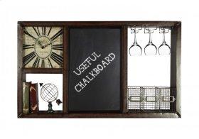 Clock and Chalk Storage