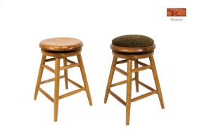 Backless Swivel Stool w/ Pad