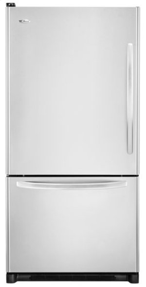 Amana Left Hand Door Swing Bottom Mount Refrigerator Hidden