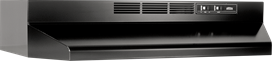 """36"""", Black, Under Cabinet Hood, Non-ducted"""