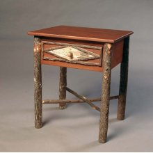 231 Diamond Birch Occasional Table