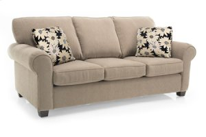Ottoman with Chaise Seat Cushion