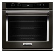 """27"""" Single Wall Oven with Even-Heat True Convection - Black Stainless Product Image"""