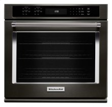"27"" Single Wall Oven with Even-Heat™ True Convection - Black Stainless"