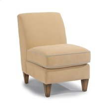 Digby Leather Armless Chair