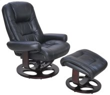 Jacque II-8021 Pedestal Chair and Ottoman