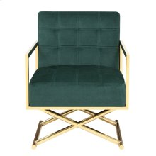 Emerald Home U3806-05-08 Phoenix Accent Chair, Emerald Green