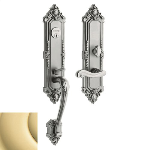 Non-Lacquered Brass Kensington Entrance Trim