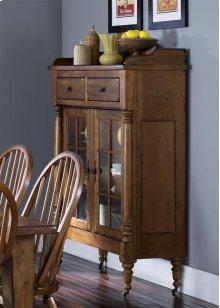 Display Cabinet - Oak