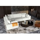 Perry 2 Arm Corner Compact Sofa Product Image