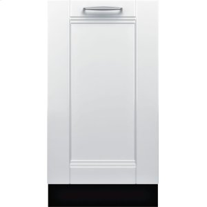 "BoschADA 18"" 800 Series Custom Panel, 6/5 Cycles, 3rd Rck, 44 dBA, RckMatic,10 Pl Stgs, InfoLight - CP"