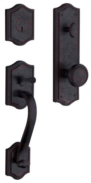 Distressed Venetian Bronze Bristol Handleset