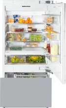 KF 1903 Vi MasterCool fridge-freezer with maximum storage space and high-quality features for exacting demands. Product Image