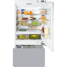 KF 1903 Vi MasterCool fridge-freezer with maximum storage space and high-quality features for exacting demands.
