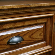 Boulder Creek Oak Corner Console #82232