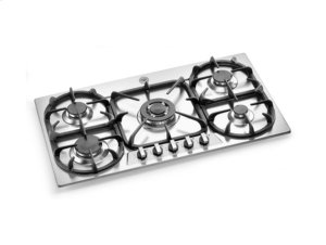 Stainless 36 5-Burner Cooktop