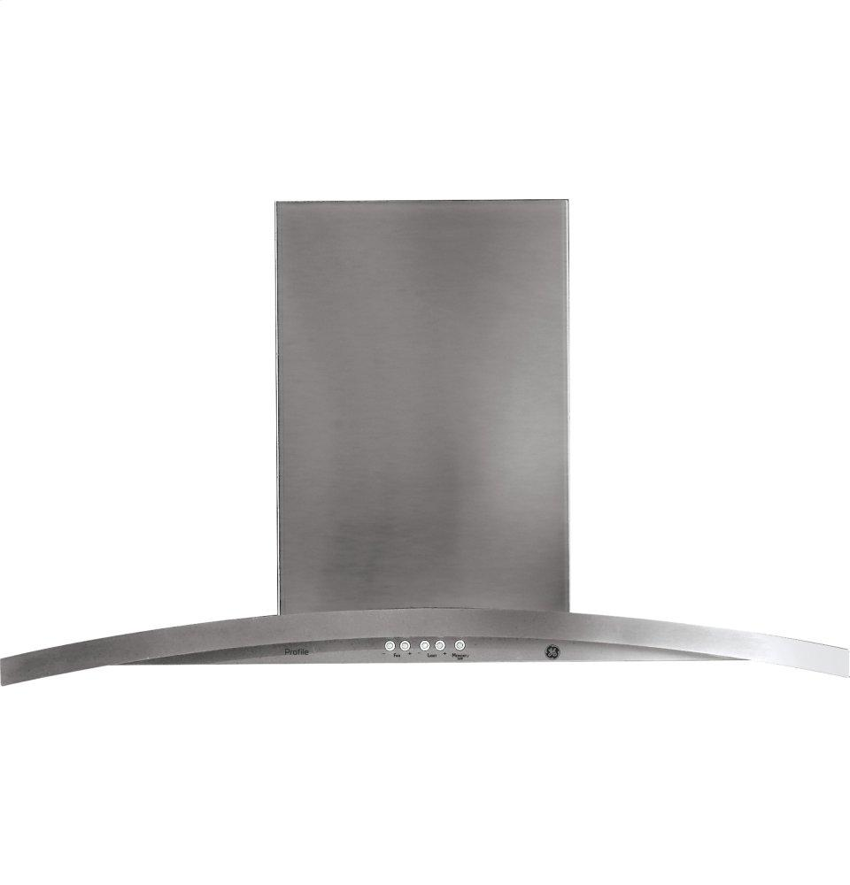 "GE Profile(TM) 36"" Wall-Mount Chimney Hood