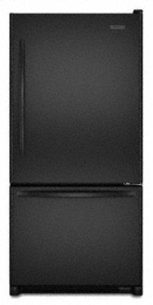 """Right-Hand Door Swing Counter-Depth 19.9 cu. ft. 35 5/8"""" Width Architect® Series II(Black)"""