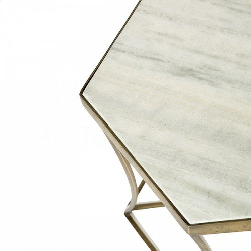 Triangulo Marble Side Table